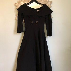 Vintage 50's Tatyana Dress Off Shoulder